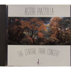 Astor Piazzolla: The Central Park Concert. 1 CD.