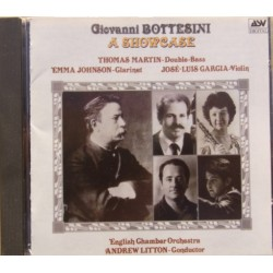 Bottesini: A Showcase. Thomas Martin, Emma Johnson, Garcia. ECO, Andrew Litton. 1 CD. ASV