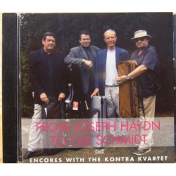 From Joseph Haydn to Ole Schmidt. Encores with the Kontra Quartet. 1 CD. Classico