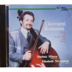 Bottesini: Works for double bass and piano. Darius Mizera, Elisabeth Westenholz. 1 CD. Kontrapunkt.