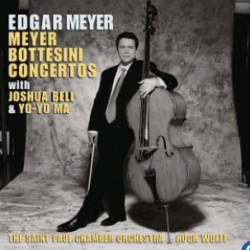 Meyer: Dobbeltkoncert for cello og kontrabas, + Koncert nr. 2. Edgar Meyer, Yo-Yo Ma, Joshua Bell. 1 CD. Sony