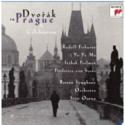 Dvorak in Prague. A Celebration, Firkusny, Ma, Perlman, von Stade, BSO, Ozawa. 1 CD. Sony