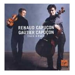 Face to Face. Renaud Capucon, Gautier Capucon. 1 CD. Virgin