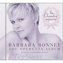 Barbara Bonney: The operetta album. Rolnald Schneider (piano). 1 CD. Decca