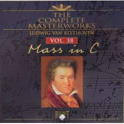 Beethoven: Messe i C. Slovak Philharmonic Choir & Orchestra, Anton Nanut. 1 CD. Brilliant Classics