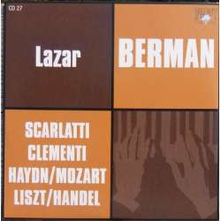 Scarlatti, Mozart, & Haydn: Piano Sonatas. Lazar Berman. 1 CD. Russian Archives