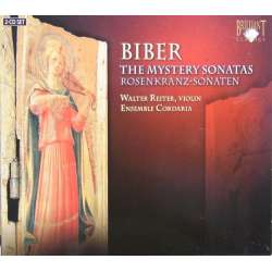 Biber: The Mystery sonatas. Reiter, Ensemble Cordaria. 2 CD. Brilliant Classics