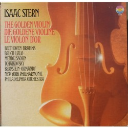 Isaac Stern: The Golden violin. 4 LP. CBS