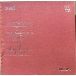 Beethoven: Klavertrio nr. 1-10. (Komplet) Beaux Arts Trio. 4 LP. Philips