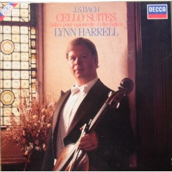Bach: 6 Cello suites. Lynn Harell. 2 LP. Decca 4141631