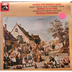 Music for Double bass by Rossini, Michael Haydn, Dittersdorf, Slatford, Marriner 1 LP. EMI