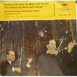Bach and Vivaldi: Double Concertos. David og Igor Oistrakh. 1 LP. DG