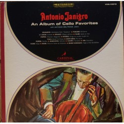 Antonio Janigro. An Album of Cello Favorites. 1 LP. Vanguard