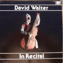 David Walter in recital. Sperger, Misek, Lancen. 1 LP. Redmark