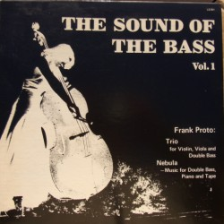 The Sound of the Bass. Frank Proto. Vol. 1. 1 LP. Redmark