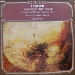 Franck: Symphony i D-Minor. Pierre Monteux, Chicago SO. 1 LP. RCA