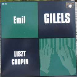 Chopin: Piano concerto no. 1 & Liszt: Piano concerto no. 1. Emil Gilels, Kiril Kondrashin. 1 CD. Russian Archives