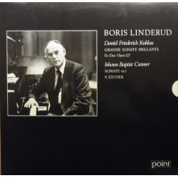 Kuhlau: Grande Sonata Brilliante. + Cramer: Sonata no. 1. Boris Linderud. 1 LP. Point
