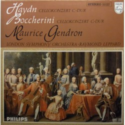 Haydn & Boccherini: Cello Concertos. Maurice Gendron, LSO, Raymond Leppard. 1 LP. Philips
