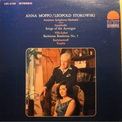 Canteloube: Songs of the Auvergne. Anna Moffo, Leopold Stokowski. 1 LP. RCA