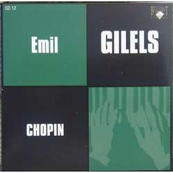 Chopin: Klaversonate nr 2 & 3. Emil Gilels. 1 CD. Russian Archives