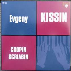 Chopin: Nocturnes, Mazurkas. & Scriabin: 11 Preludes. Evegeny Kissin. 1 CD Russian Archives.