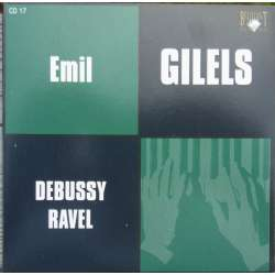 Debussy: Suite for Piano. Images, + Estampes. Emil Gilels. 1 CD. Russian Archives.