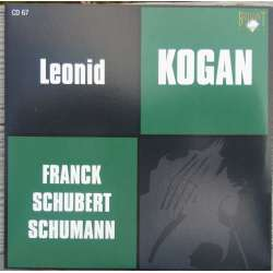 Franck: Violinsonate, transcriberet til violin og orkester. Leonid Kogan, Pavel Kogan, USSR SO. 1 CD. Russian Archives.