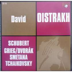 Grieg: Violinsonate nr. 2. & Schubert: Fantasy. David Oistrakh, Yampolski. 1 CD. Russian Archives