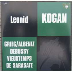 Grieg: Violinsonate nr. 1 & 3. Leonid Kogan, Grigori Ginzburg. 1 CD. Russian Archives
