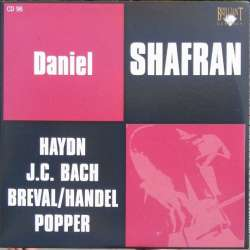 Haydn: Cellokoncert nr. 2 & JC. Bach: Cellokoncert. Daniel Shafran, Rozhdestvensky, USSR State SO. 1 CD. Russian Archives