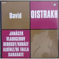 Janacek: Violinsonate. David Oistrakh, Frida Bauer. 1 CD. Russian Archives