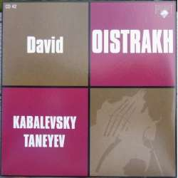 Kabalevsky & Taneyev: Violinkoncerter. David Oistrakh, Kurt Sanderling. 1 CD. Russian Archives