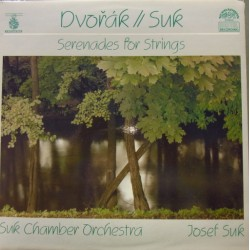 Dvorak & Suk: Serenade for strings. Suk Chamber Orchestra. 1 LP. Supraphon