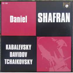 Kabalevsky: Cellokoncert. & Tchaikovsky: Rococo tema. Daniel Shafran. 1 CD. Russian Archives