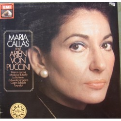 Maria Callas sings arias by Puccini. 1 LP. EMI