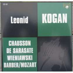 Barber: Violinkoncert & Sarasate: Carmen fantasy. Leonid Kogan. 1 CD. Russian Archives