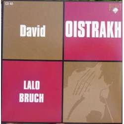 Lalo: Symphonie Espagnole & Bruch: Scottish fantasy. David Oistrakh. Kirill Kondrashin. 1 CD. Russian Archives.