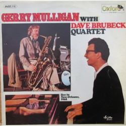 Gerry Mulligan with Dave Brubeck Quartet. Live in New Orleans 1968. 1 LP. Oxford