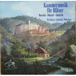 Chamber music for winds by Rossini, Mozart, Janacek. Residenz Quintet. 1 LP. Calig