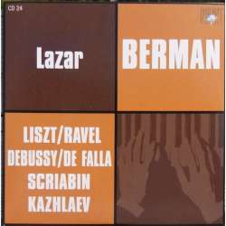 Liszt: Sonata in B minor. & Scriabin: Piano Works. Lazar Berman. 1 CD. Russian Archives