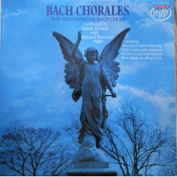 Bach: Jesu, joy of man's desiring, Jesu Christ, we ask, Zions Heart. Mark Brown. 1 LP. EMI