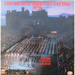 Edinburgh Military tattoo 1979, Live from the Castle Esplanade. 1 LP. EMI