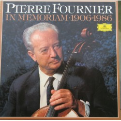Pierre Fournier in Memoriam. 1906 - 1986. 5 LP. DG