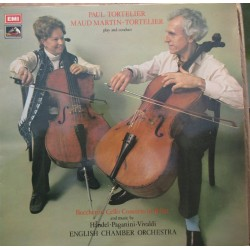 Boccherini: Cello Concerto. Paul & Maud Martin Tortelier, ECO. 1 LP. EMI. ASD 3015