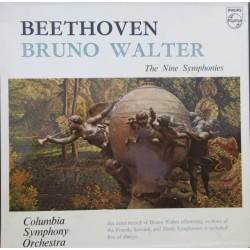 Beethoven: Symphonies nos. 1-9. Bruno Walter, Columbia Symphony Orchestra. 8 LP. Philips