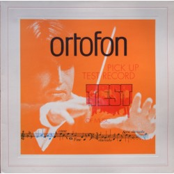 Ortofon Pick-Up test record. Test of music. 1 LP. Ortofon