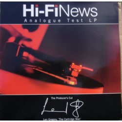 Hi-FI News Analogue Test LP. 1 LP