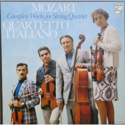 Mozart: Complete String Quartets. Quartetto Italiano. 9 LP. Philips. 6747097