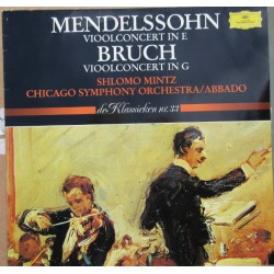 Mendelssohn & Bruch: Violin Concertos. Shlomo Mintz, Claudio Abbado, Chicago SO.